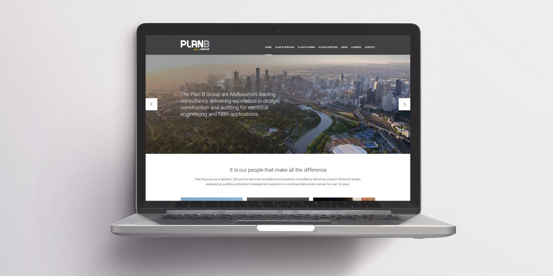 Plan B Group new website